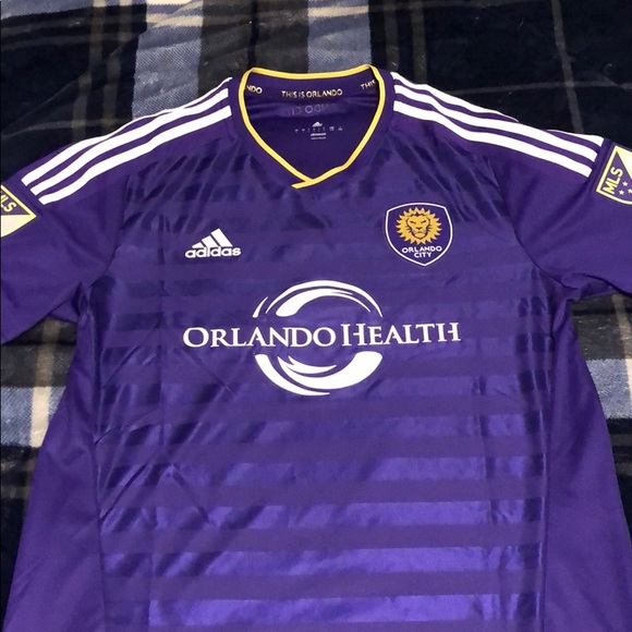 new products 9fff8 42a0f Orlando City Jersey MLS
